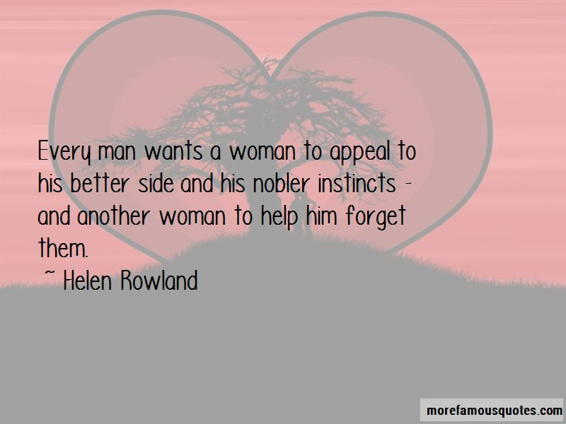 Every Man Wants A Woman Quotes
