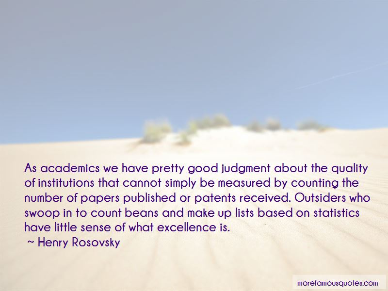 Excellence In Academics Quotes