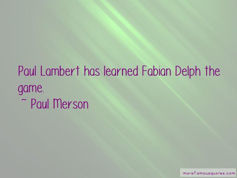 Fabian Delph Quotes