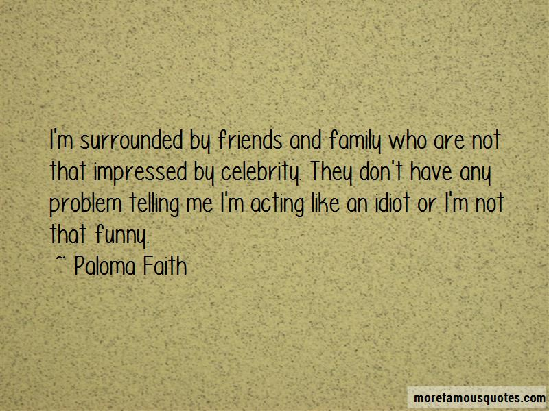 Family Acting Funny Quotes