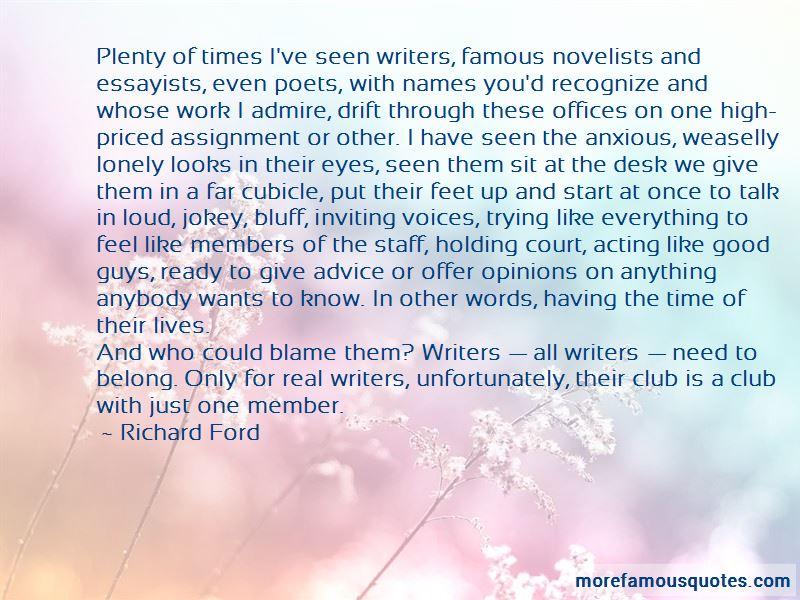 Famous Admire Quotes