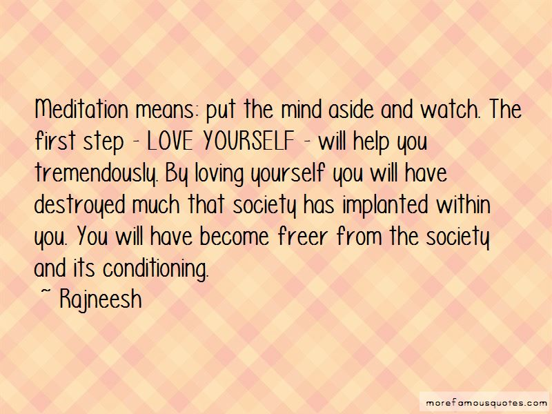 First Step Love Quotes