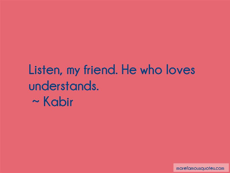 Friend Who Understands Quotes Pictures 4