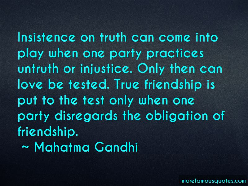 Friendship Tested Quotes