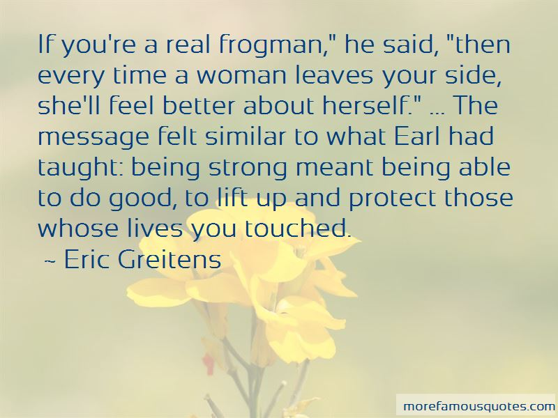 Frogman Quotes