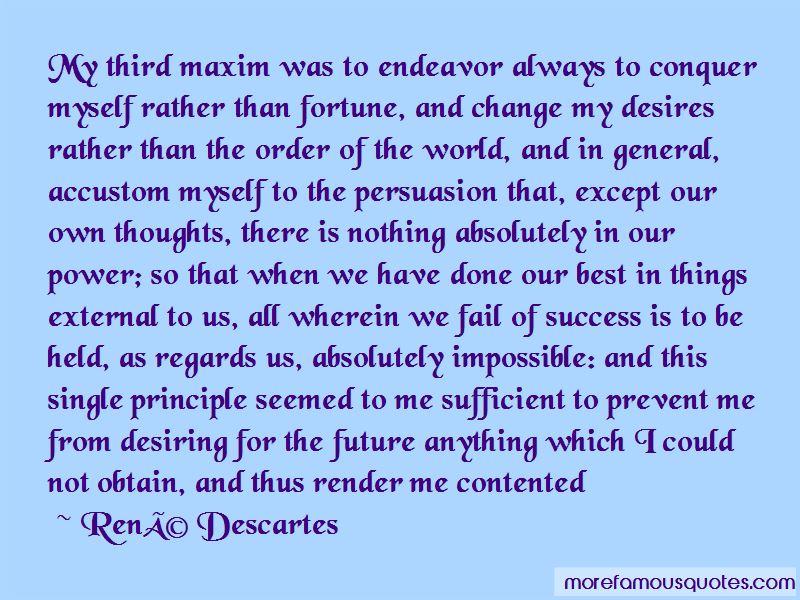 Future Endeavor Quotes