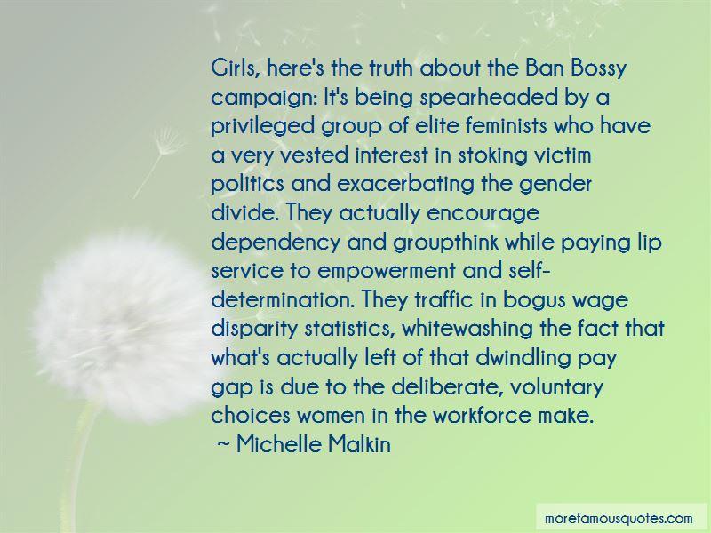 Gender Disparity Quotes