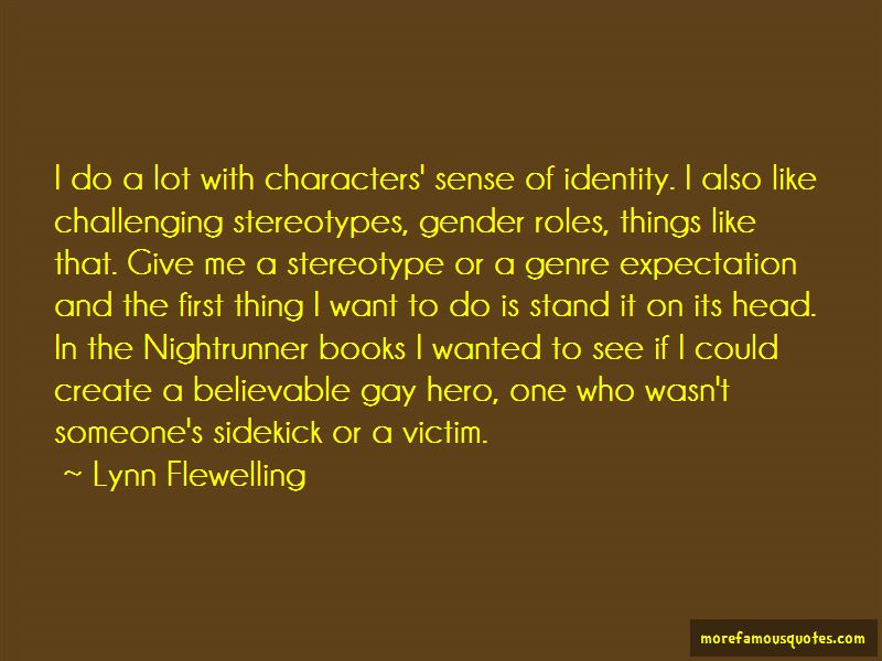 Gender Stereotype Quotes