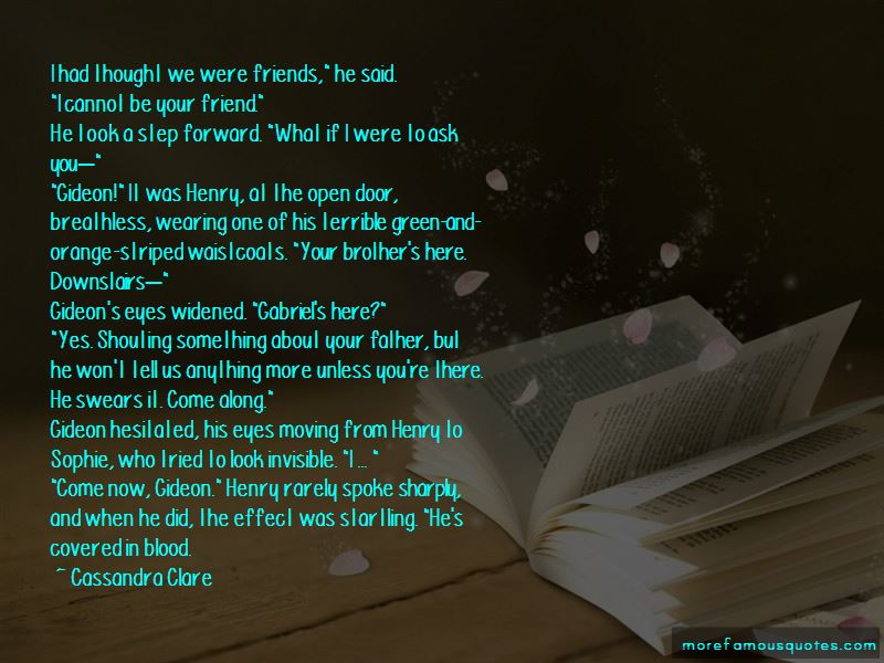 Gideon And Sophie Quotes Pictures 2