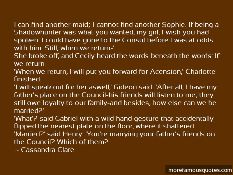 Gideon And Sophie Quotes Pictures 3