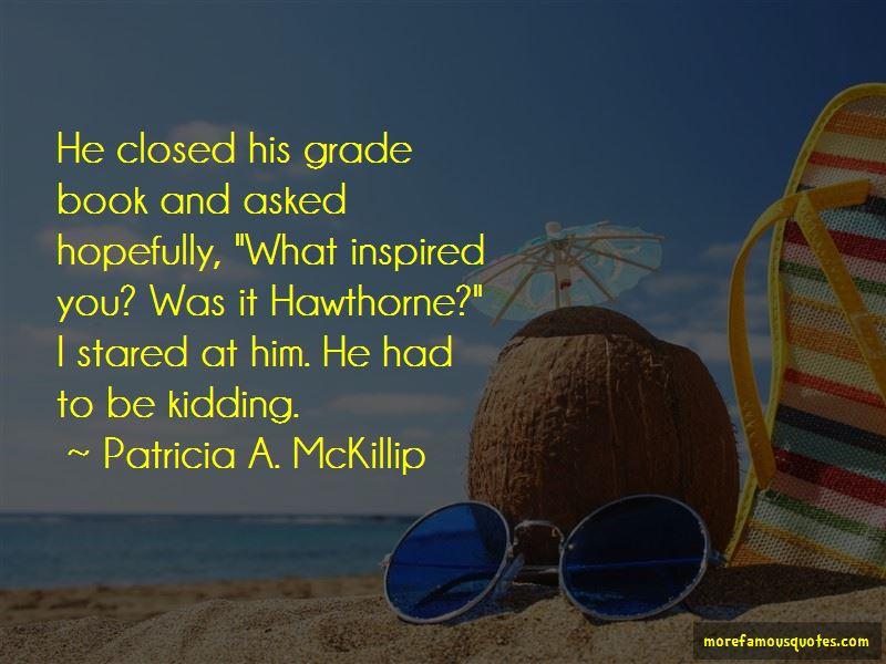 Grade Book Quotes