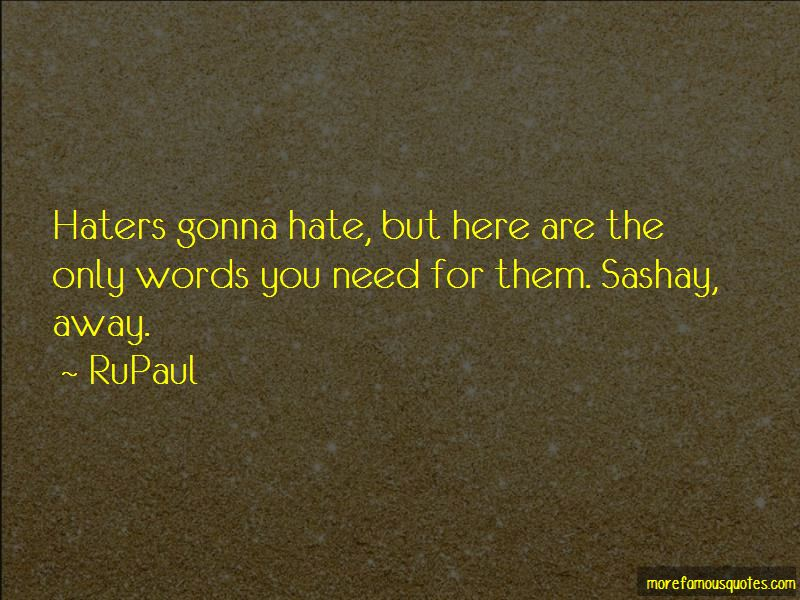 Haters Gonna Quotes Pictures 2