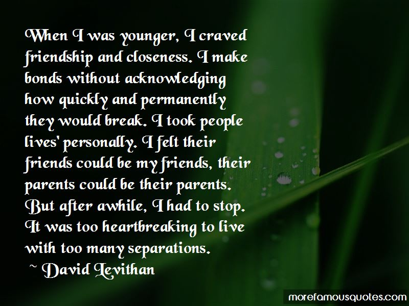 Heartbreaking Friendship Quotes: top 3 quotes about ...