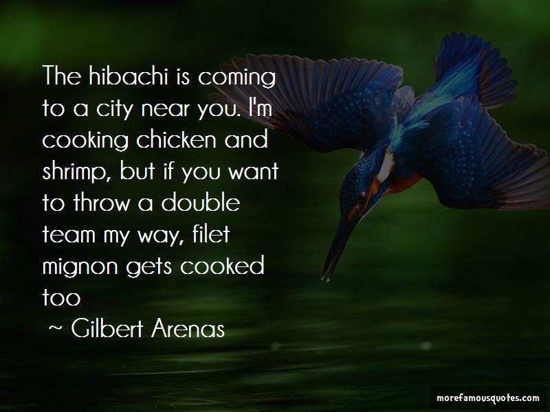 Hibachi Quotes