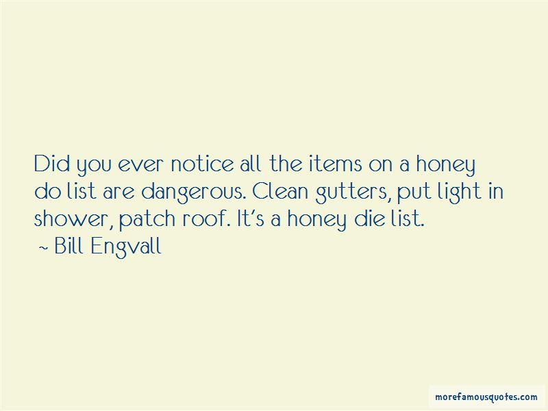 Honey Do List Quotes