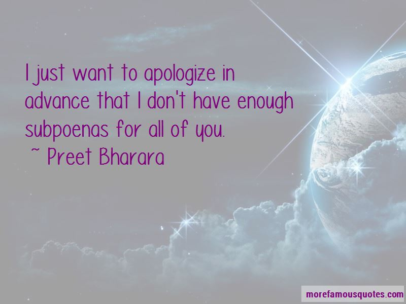 i just want to apologize quotes