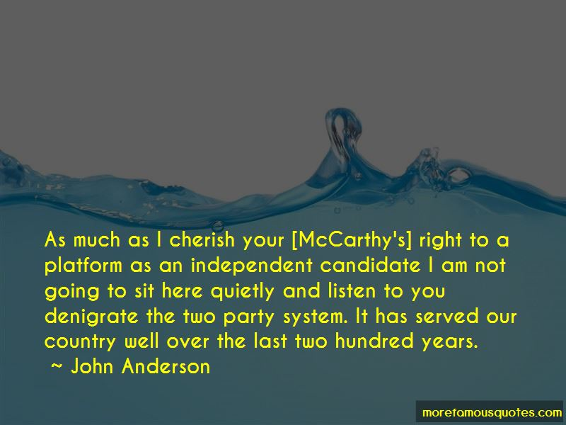 Independent Candidate Quotes