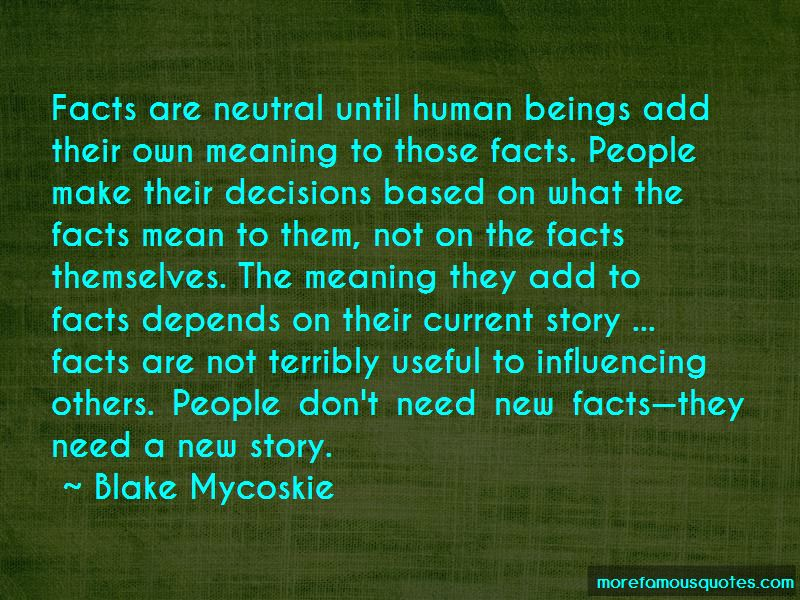 Influencing Decisions Quotes