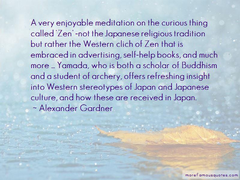 Japanese Zen Buddhism Quotes