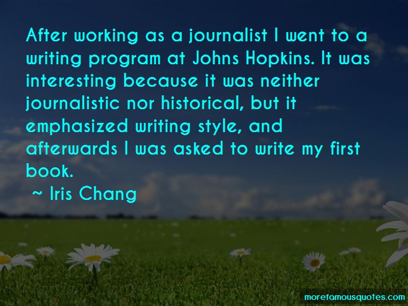 Journalistic Style Quotes Pictures 2