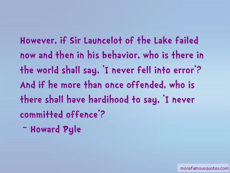 Launcelot Quotes
