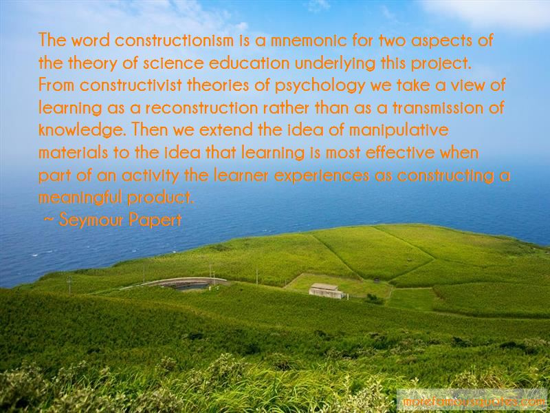 Learning Theory Psychology Quotes