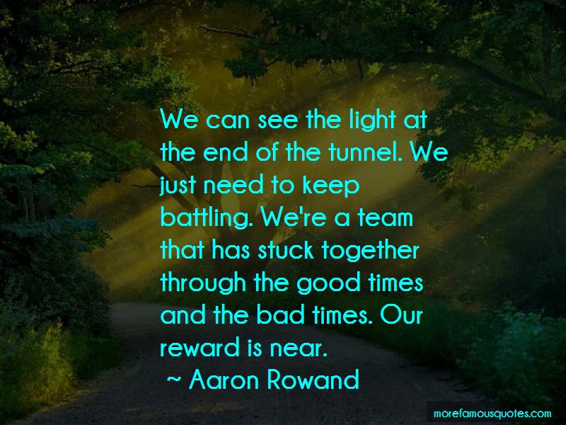 Light End Of Tunnel Quotes Pictures 2