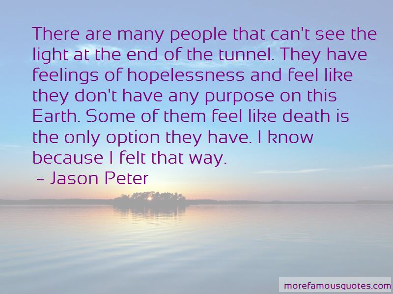 Light End Of Tunnel Quotes Pictures 3