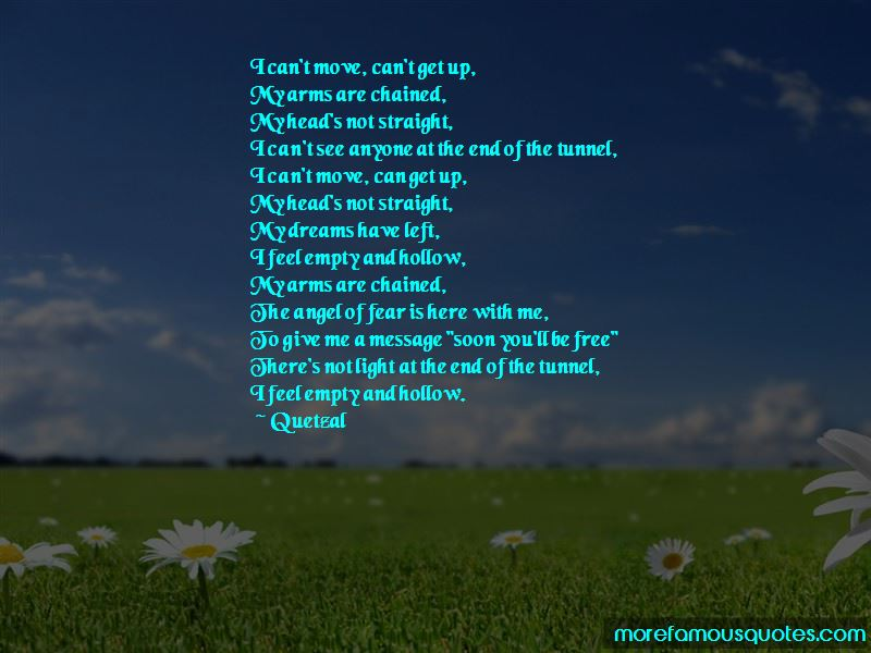 Light End Of Tunnel Quotes