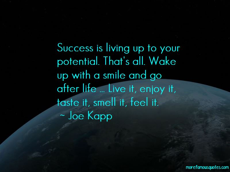 Live Life With Smile Quotes