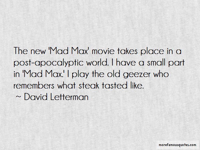Mad World Movie Quotes