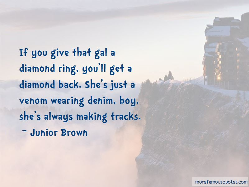 Making Tracks Quotes