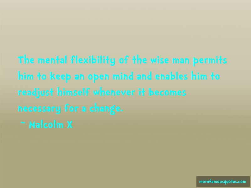 Mental Flexibility Quotes
