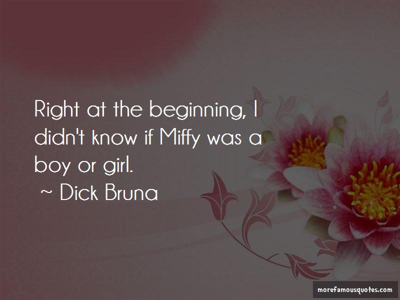 Miffy Quotes