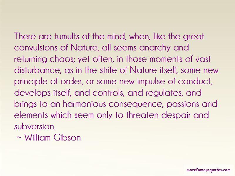 Mind Disturbance Quotes