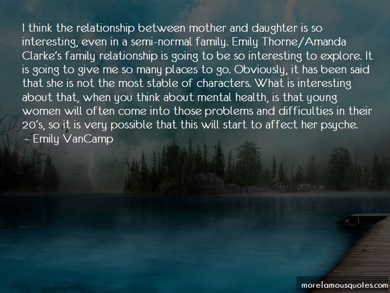 Mother Daughter Relationship Problems Quotes