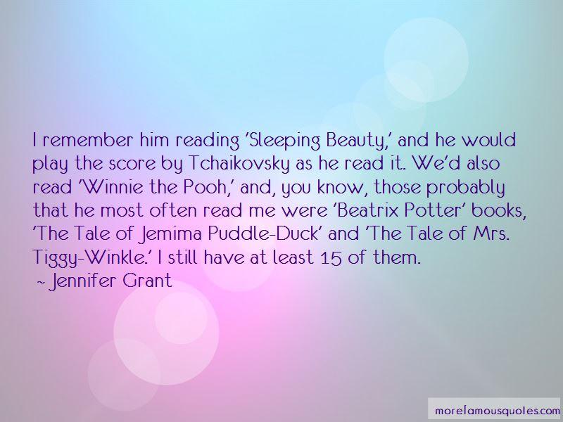 Mrs Tiggy Winkle Quotes