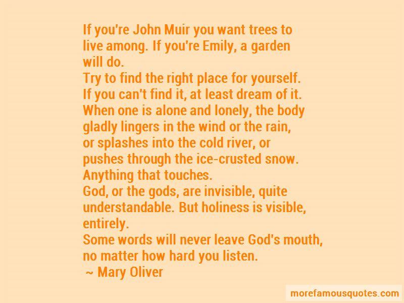 Muir John Quotes