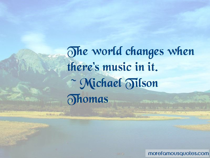 Music Changes The World Quotes