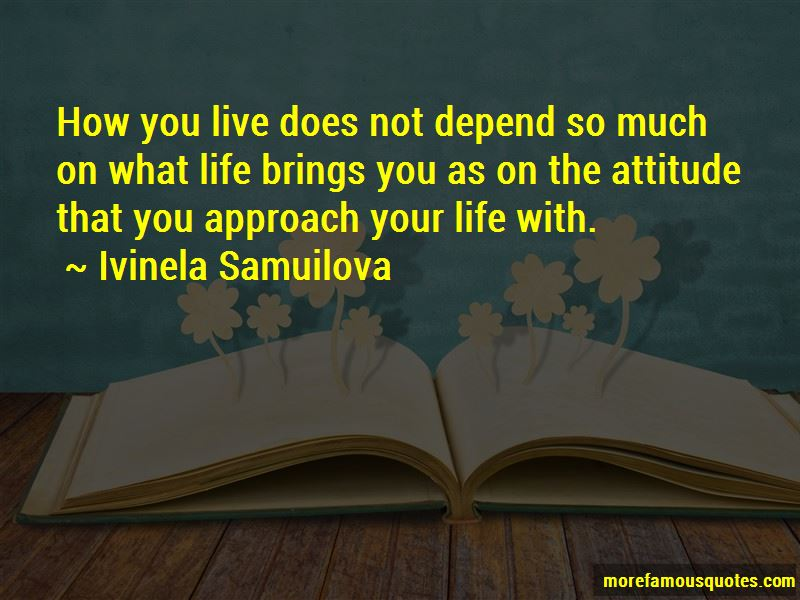 My Attitude Depend On You Quotes Pictures 3