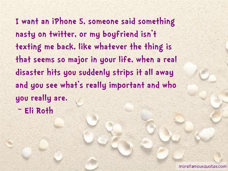 My Boyfriend Isn't Quotes