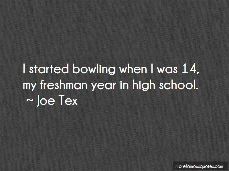 My Freshman Year Quotes