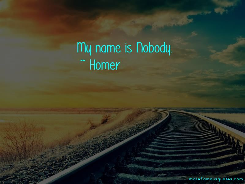 My Name Is Nobody Quotes