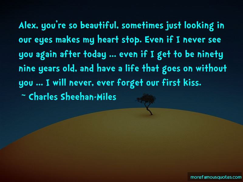Never See You Again Quotes