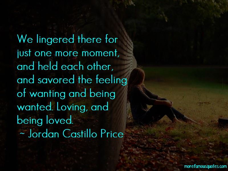 One More Moment Quotes