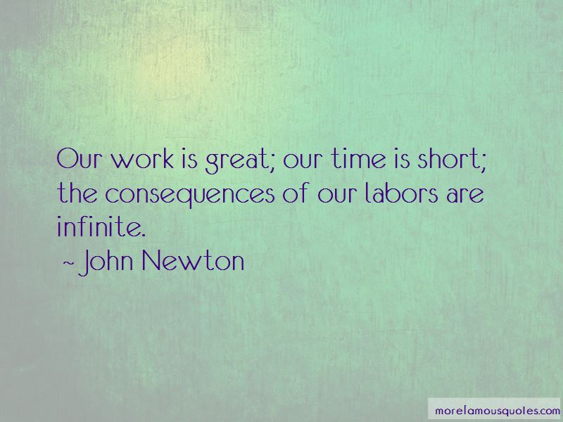 Our Time Is Short Quotes