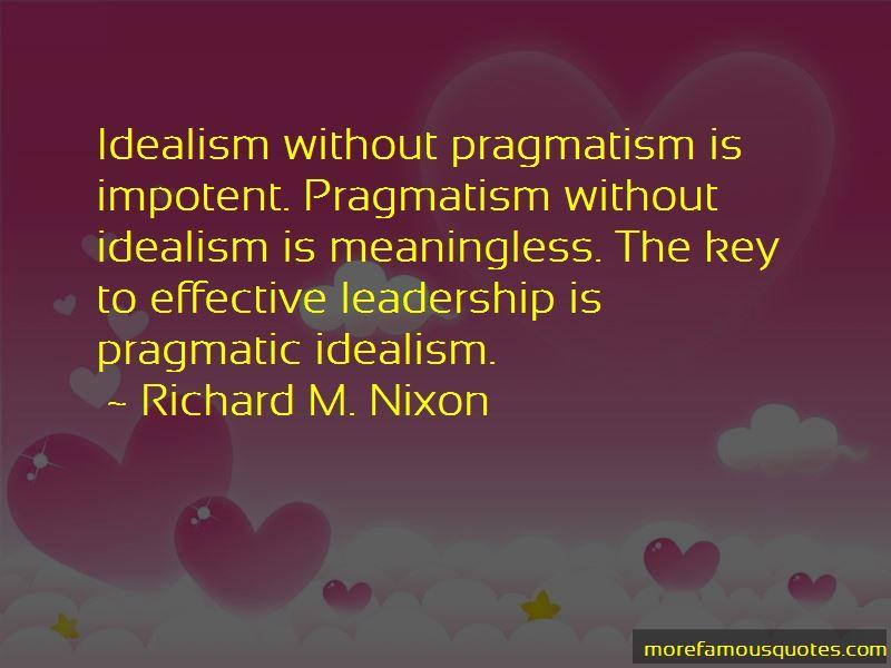 Pragmatism Vs Idealism Quotes Pictures 4