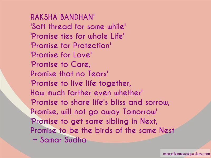 Raksha Quotes Pictures 2