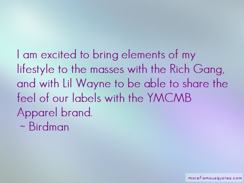 Rich Gang Lifestyle Quotes