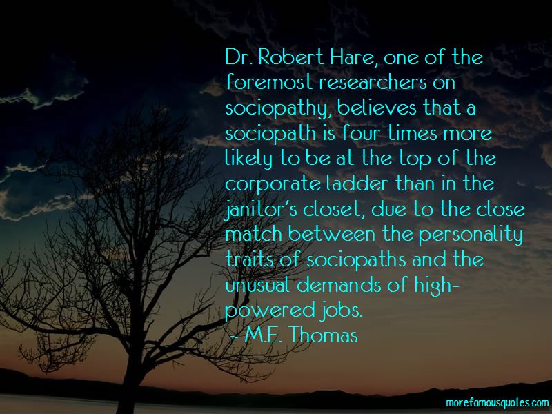 Robert Hare Quotes
